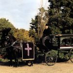 Horse Drawn Black Hearse